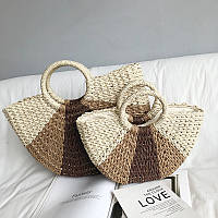 Плетеная сумка , 2 размера