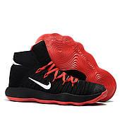 7d3b35b6 Женские баскетбольные кроссовки Nike Hyperdunk 2017 Flyknit Black Red