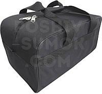 Сумка тканевая для ручной клади, для авиаперелётов, лоукостером,  размер 40-20-25 см (д-в-ш)