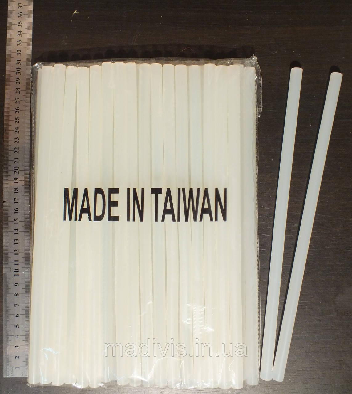 Стержни клеевые прозрачные 11 мм., длина - 285 см. в кг.