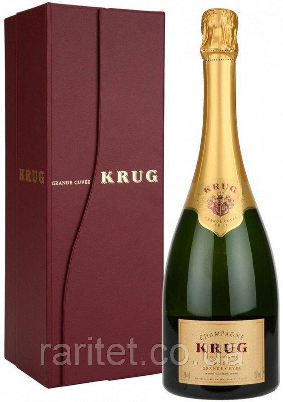 Муляж Шампанское Krug Grande Cuvee в подарочной коробке, бутафория 1.5л