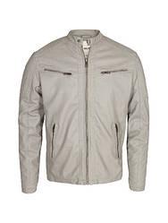 Чоловіча шкіряна куртка Dwaine PU leather Jacket від Solid (Данія) в розмірі L 50/52