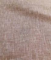 Льняная меланжевая сорочечная ткань, фото 1