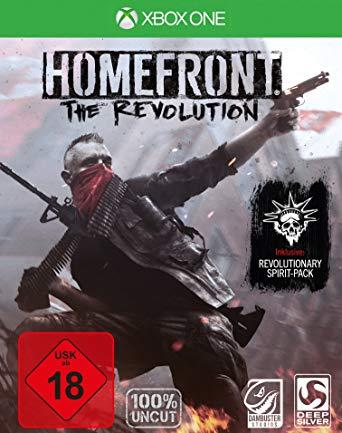 Игра для игровой консоли Xbox One, Homefront: The Revolution (БУ)