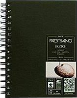 Альбом для эскизов Fabriano А5 80л 110г/м2 спираль 8001348174288