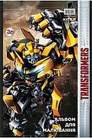Альбом для рисования Kite A4 30л 120г/м2 Transformers спираль TF18-243