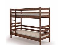 """Двоповерхове ліжко """"Соня"""" можна розібрати у 2 односпальні ліжка з натурального дерева"""