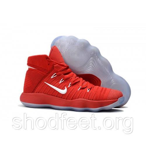 Женские баскетбольные кроссовки Nike Hyperdunk 2017 Flyknit Red