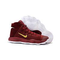 71c9686d Женские баскетбольные кроссовки Nike Hyperdunk 2017 Flyknit Red Gold White