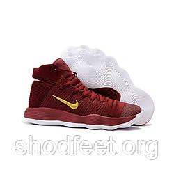 Женские баскетбольные кроссовки Nike Hyperdunk 2017 Flyknit Red Gold White