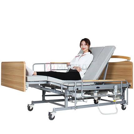 Медицинская электро кровать с туалетом  Е04. Функциональная кровать для инвалида., фото 2