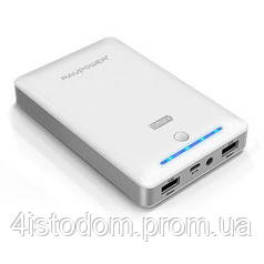 Внешний аккумулятор RavPower Power Bank 16750mAh White (PR-PB19WH)