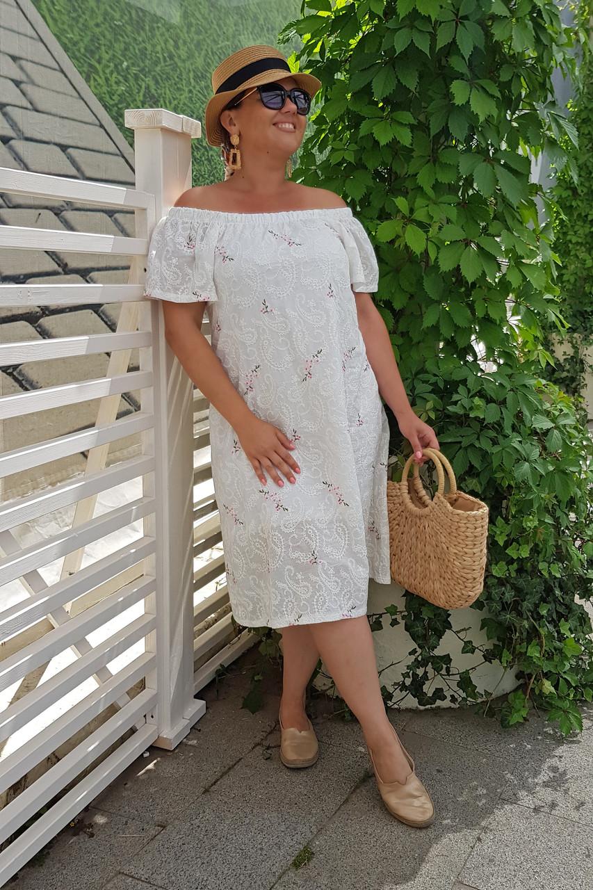 Летнее платье Вышивка 04043