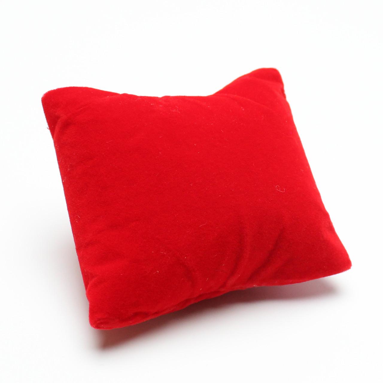 Подставка подушка красная