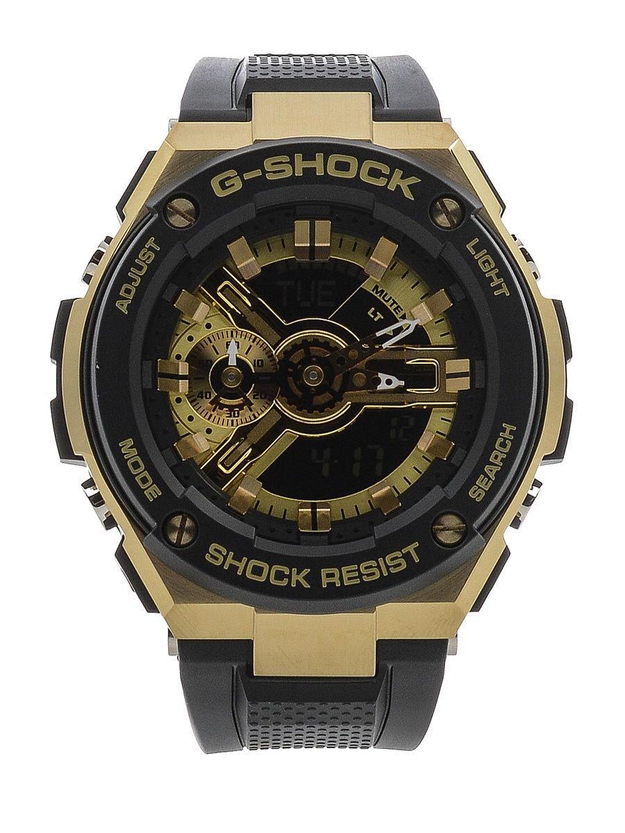 Часы Casio G-Shock G-Steel GST-400G-1A9 TOUGH SOLAR
