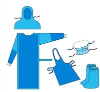 Комплект одягу Протиепідемічний (Протичумний) №3  Неман