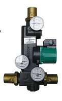 Система Laddomat 21-100 - Контур подмеса для котлов мощностью до 60Кв