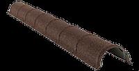 Планка конька круглого длина изделия (2м) Zn, толщина 0,45