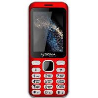 Мобильный телефон Sigma X-style 33 Steel Dual Sim Red (4827798854938)
