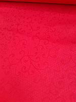 Льняная глянцевая скатертная ткань (шир.150 см), фото 1