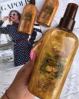 Кокосовое масло для загара с шиммером Top Beauty Sun Protection Bronze Tan 200 мл