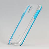 Чехол Blue Rim для samsung galaxy s4 прозрачный  из высококачественного пластика, фото 1