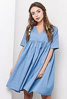 Платье KP-5950-11 (S, Голубой) S