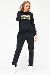 Спортивный костюм KM-2069-8 (M, Черный) M