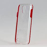 Чехол Red Rim для samsung galaxy s4 прозрачный  из высококачественного пластика, фото 1