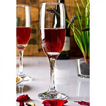 Набор бокалов для шампанского 150мл Imperial Plus 44819 (6шт)
