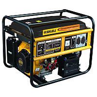 Электростанция бензин 5.0/5.5кВт 4-х тактный электрозапуск  Sigma 5710311