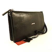 Кожаный клатч Desisan 070-1 черный, расцветки