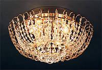 Люстра хрустальная для зала, спальни 8 ламповая