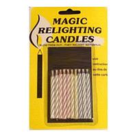 Магические свечи для торта