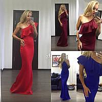 Платье вечернее в пол 42-46р цвета в ассортименте