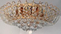 Люстра хрустальная для зала, спальни большая на 12 лампочек