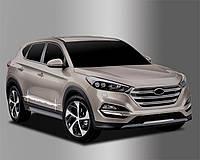 Hyundai Tucson (2015-) Нижний молдинг дверный 4шт