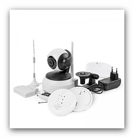 Охранная сигнализация с системой видеонаблюдения