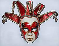 """Венецианская маска ручной работы """"Джокер"""""""
