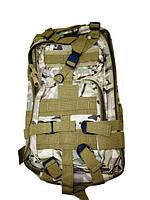 Рюкзак военный тактический штурмовой Спартак Molle Assault N02189 Camo Камуфляж (007425)