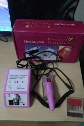 Фрезер для маникюра и педикюра Lina mersedes 2000 на 20 тыс.об/мин мощность 20 ватт, фото 2