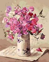 Картина по номерам Музыка цветов (QS1062) 50 х 65 см Babylon
