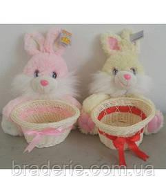 Заяц со шляпой 20 см 2377-20