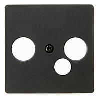 Накладка для широкополюсной модемной коробки Berker B.3/B.7/K.1 Антрацит (14391606)