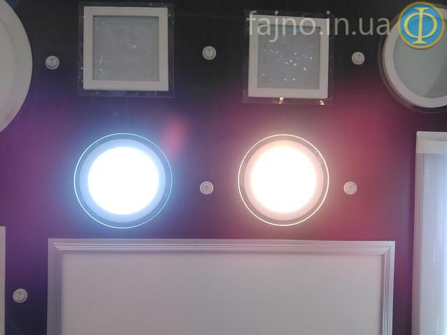 Светодиодный светильник Bellson Glass круг (12 Вт, 160 мм)