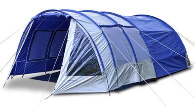 Палатка туннель Abarqs King-6A, клеенные швы,тамбур,6 человек, фото 3