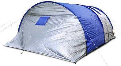 Палатка туннель Abarqs King-6A, клеенные швы,тамбур,6 человек, фото 2