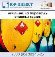 Лицензия на перевозку опасных грузов, ADR