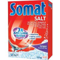 Средство для мытья посуды Somat Соль Тройного действия 1,5 кг (9000100147293)