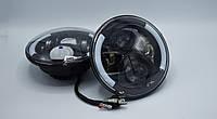 Светодиодные фары головного света 7`` LED Head Light с ДХО и повторителем поворота